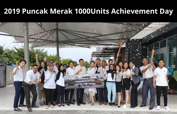 Puncak Merak 1000Units Acheivement Day